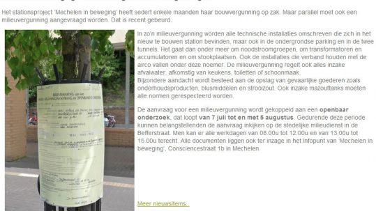 aanvraag milieuvergunning