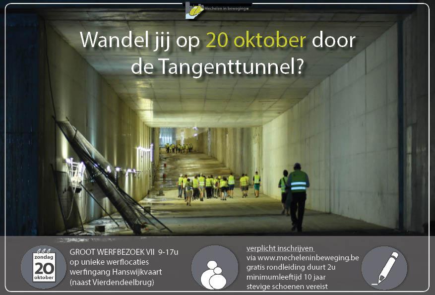 Groot Werfbezoek VII aan de Tangenttunnel