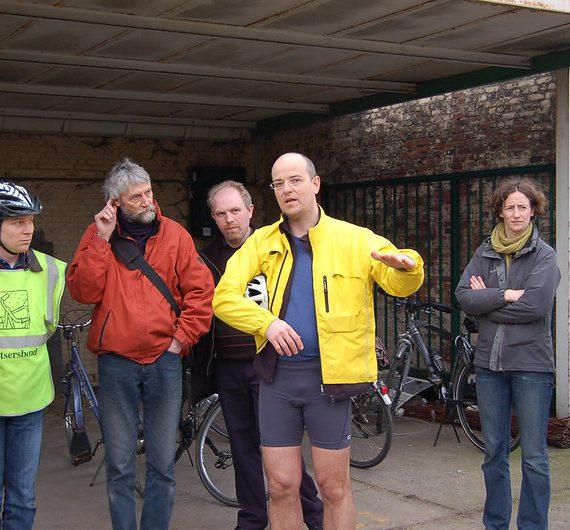 Flickr-album: fietstocht met Klankbordgroep en Themagroep Mobiliteit langsheen het projectgebied (14/03/2009)