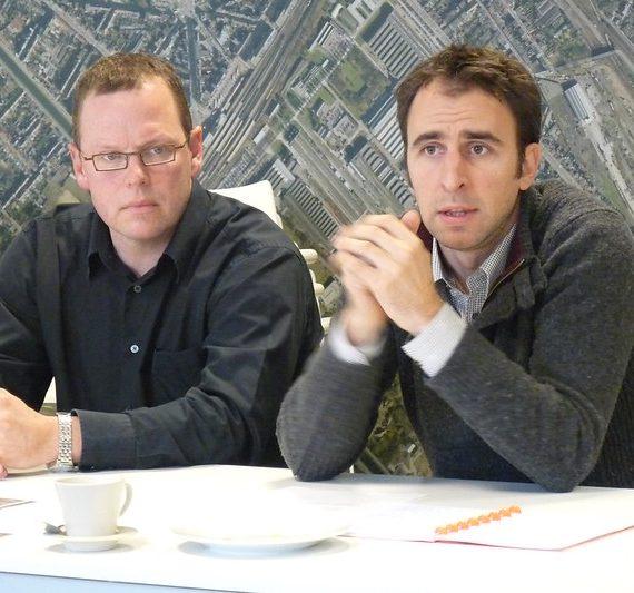 Flickr-album: persconferentie rond het indienen van de bouwaanvraag