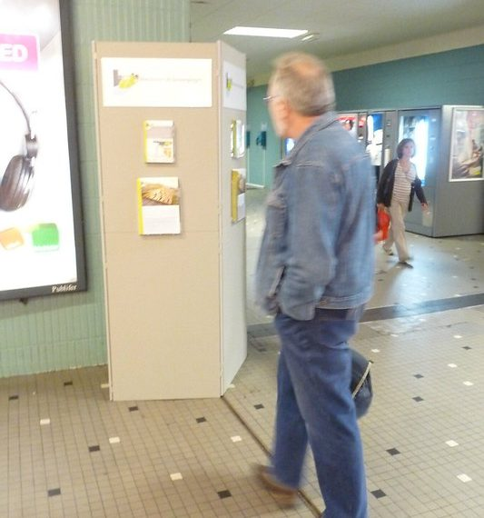 Flickr-album: Infozuilen in het station